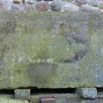 Kobrinksche Sandsteinplatte 2